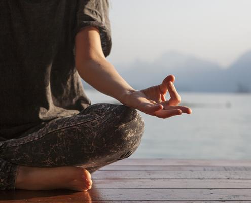 Mindfulness creu groga