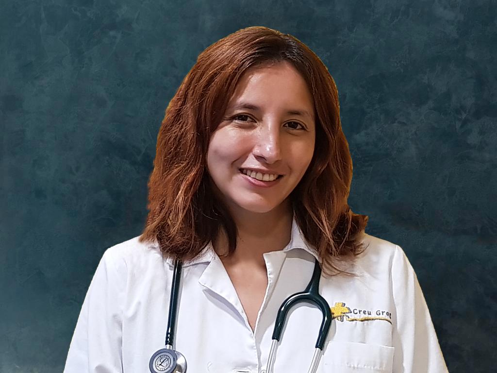 Abigail Macias pneumologa Creu Groga